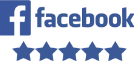 5 star Facebook rating icon