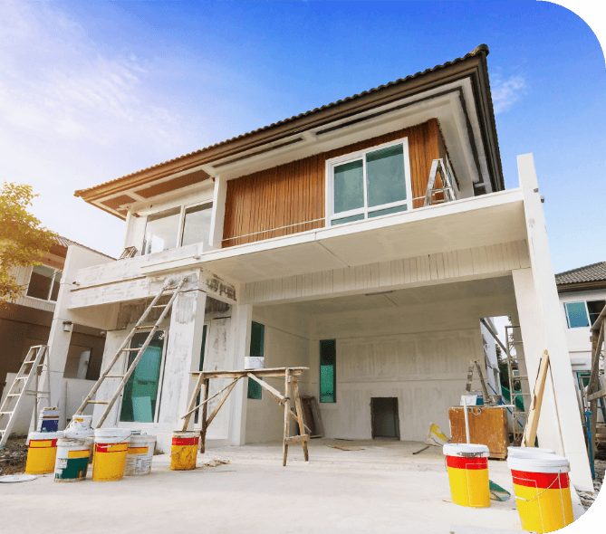 exterior painting services hard at work in Ottawa